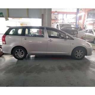 Toyota Wish Rent