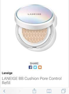 #reducedprice Laneige BB Cushion Pore Control No.21 Beige