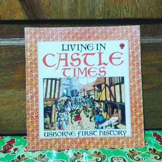 Usborne first history Living in castle times