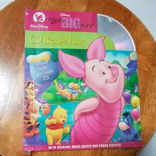 Piglet's Big Movie CD Read-along 24-page Book Plus Audio CD