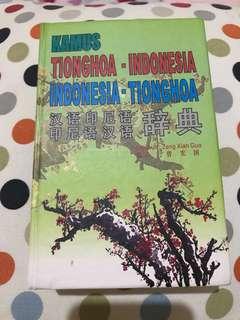 Kamus Tionghoa - Indonesia