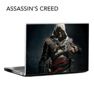 [RAYA PROMO] Customized Laptop Stickers - Assassin's Creed Collection #nogstday
