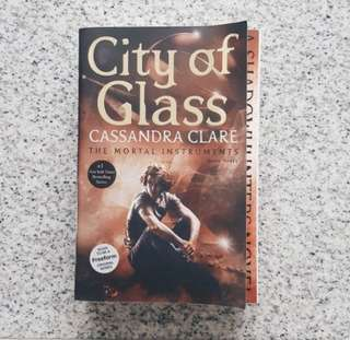 ✨ city of glass - cassandra clare [brand new]