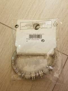 (可議價)NEXT 仿鑽石首飾全套(頸鏈加手鏈)