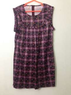 Checkeres Korean dress