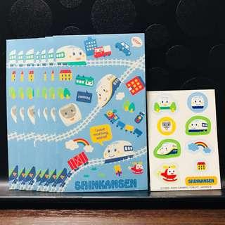 Shinkansen Packets + Stickers