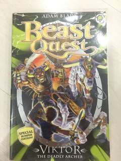 Beast Quest-Viktor The Deadly Archer(Special Bumper Edition)