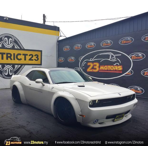 2012 dodge challenger liberty walk cars cars for sale on carousell rh my carousell com