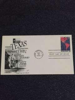 US 1968 Hemisfair FDC stamp