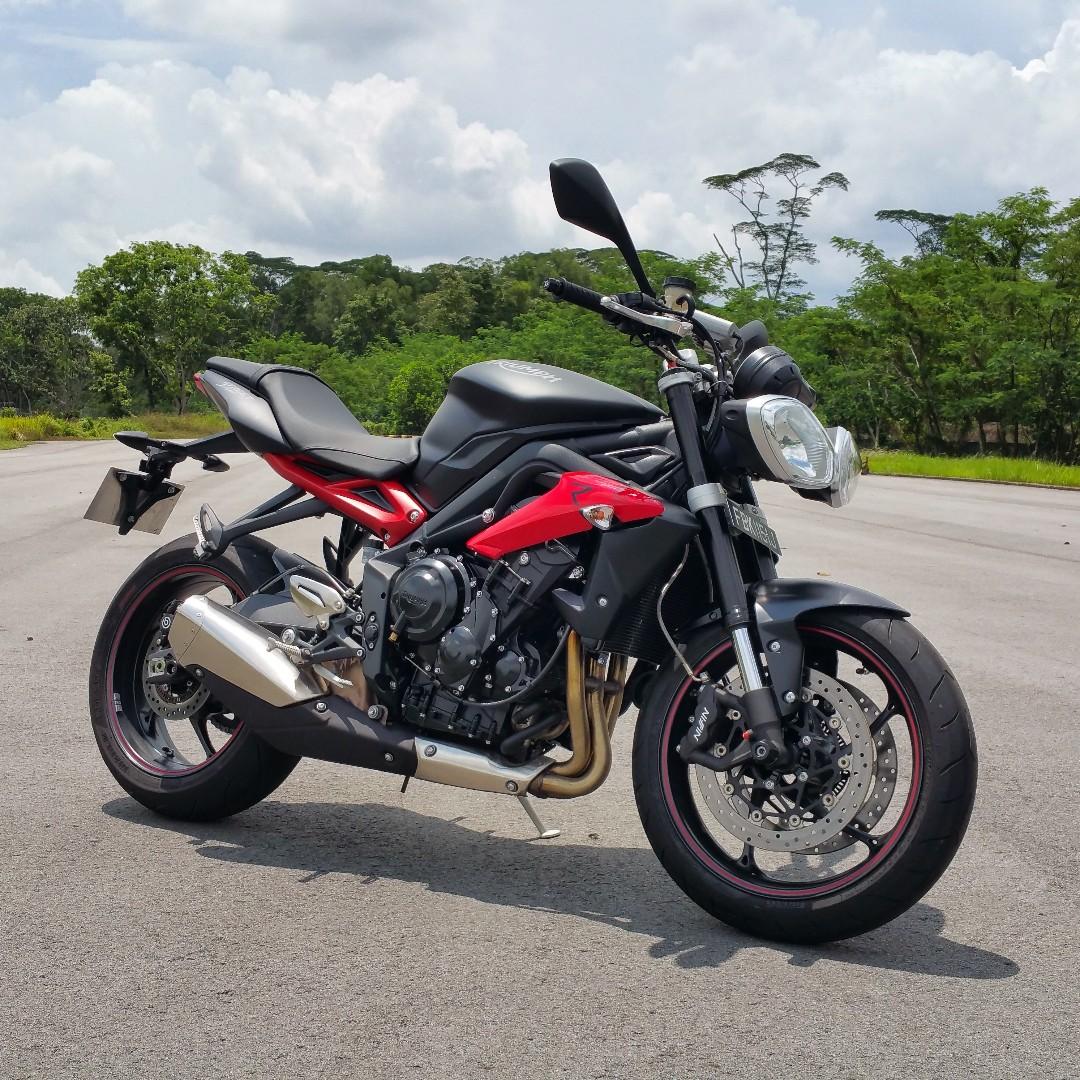 2015 Triumph Street Triple R 675r Motorbikes Motorbikes For Sale