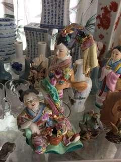 Vintage Figurine  dancers