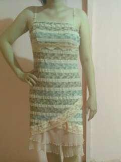 Dress impor full lace cute banget