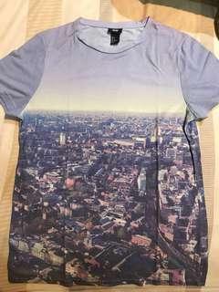 """Original H&M T-Shirt """"City View"""""""