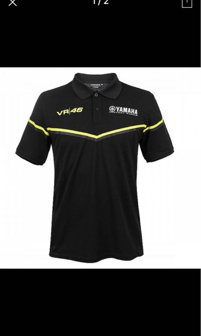2018 Motogp Valentino Rossi Vr46 Movistar Polo Shirt The Doctor For