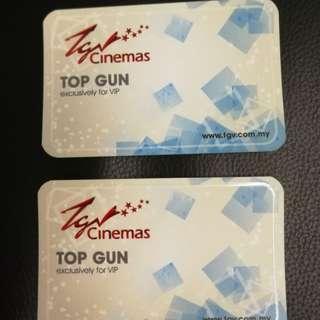 TGV movie ticket voucher Top Gun