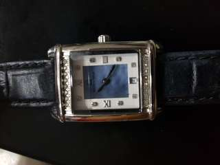 Titus leather watch ladies