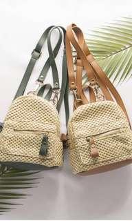 Rattan bag pack