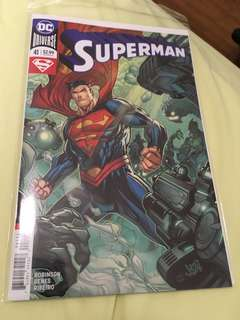 Superman Rebirth 41 Variant