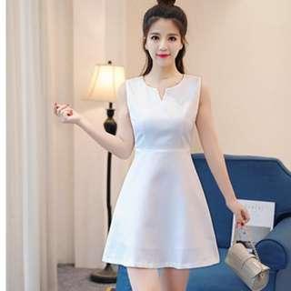 Ladies Fashion Stylish Textured A-Lined Dress