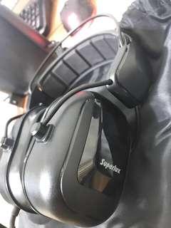 🚚 SUPERLUX BASS手錄音專用錄音室等級耳機