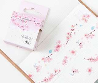 Japanese Sakura Cherry Blossom Fat Washi Tape