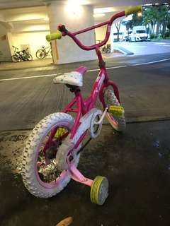 Kid Bicycle - 4 wheels
