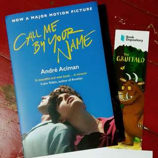 Novel Buku Import Call Me By Your Name