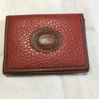 Vintage Dooney and Bourke card case