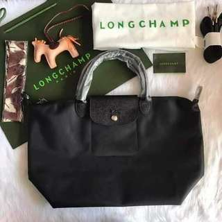 On hand!! Longchamp neo medium black 💜 sale