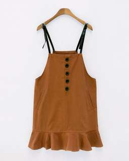 [NEW] Frill Dungarees by Chuu Korea