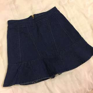 🚚 牛仔短褲裙