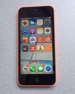 iPhone 5c  粉色 8GB