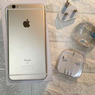 iPhone 6s plus 128gb gold 金色 港版zp