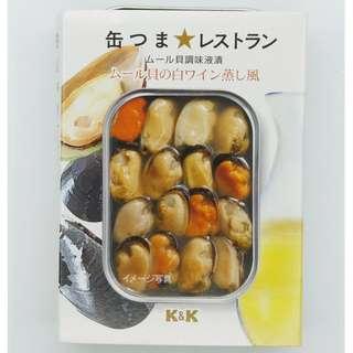 日本即食  白酒蒸青口