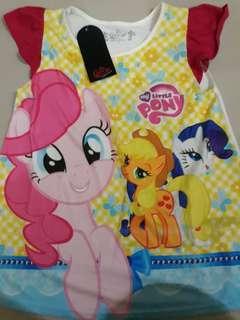 Kaos My Little pony sz.14 bahan adem 🦄 made in Thailand