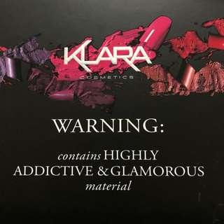 Klara Limited Edition Eyeshadow Palatte