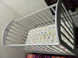 BabyLove Baby Cot & Mattress (Price Reduced)