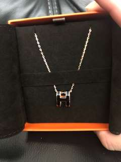 Hermes POP H rose gold black / white