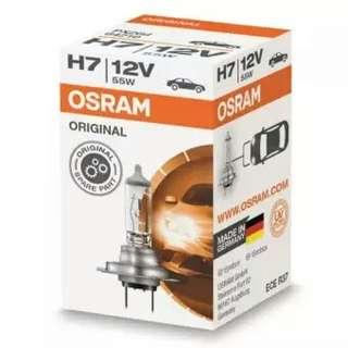 H7 Osram 55W halogen bulb