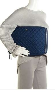 Chanel nylon quilted case