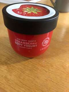 Body shop strawberry body yoghurt