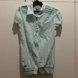 Candies Blouse w/ Collar