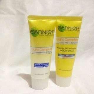 Garnier Youghurt Sleeping Mask & Night Cream