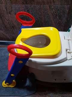 Kids toilet ladder potty training