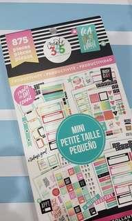 Happy Planner Mini Productivity Sticker Book