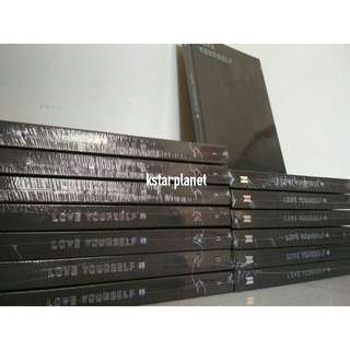 Bts tear album readystock sealed y o u r version