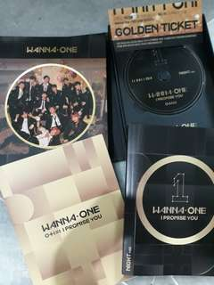 [CLEARANCE SALE!!] WANNA ONE OFFICIAL ALBUM