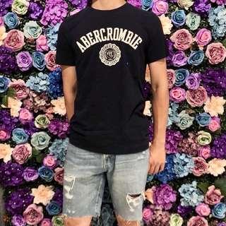 🚚 A&F男生 新款標誌短袖T恤