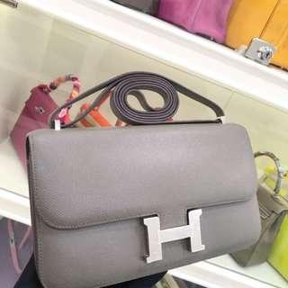 Hermes Constance 26 Elan 8F 錫器灰 Etain EPSOM皮🐘 超級氣質的顏色🤟🏻太少見😍😍