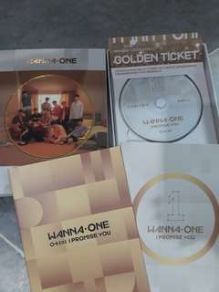 [CLEARANCE SALE!!!] WANNA ONE OFFICIAL ALBUM DAY VER